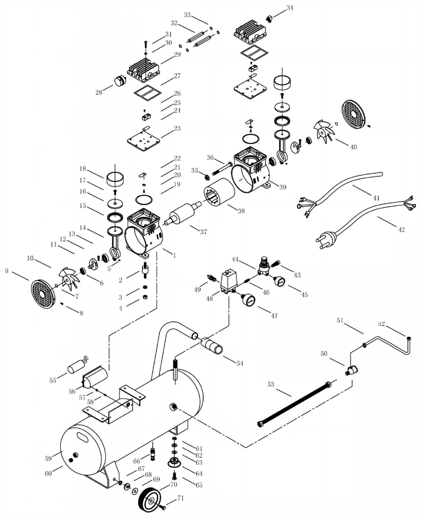 OLS 160-24 CM 1,1 Parts Breakdown
