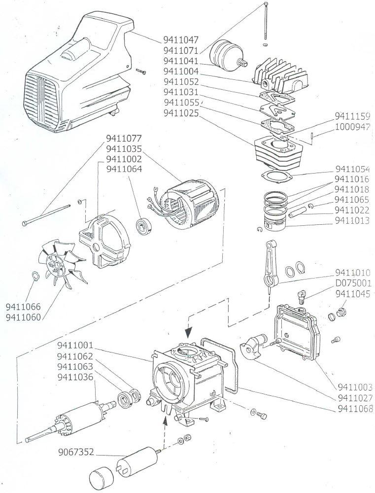 Деталировка Головка компрессорная DC2 HP 2.5 V230 50.JPG